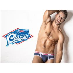 aussieBum Classic Brief Navy Marle