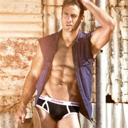 aussieBum Classic Original Brief black