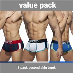 Addicted Second Skin 3 Pack Trunk