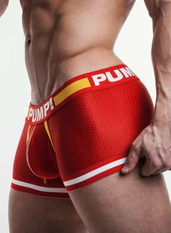 PUMP Touchdown Boxer Flash red