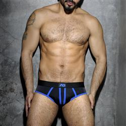 AD Fetish Stripe Fetish Brief royal blue
