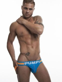PUMP Cruise Jockstrap blue orange