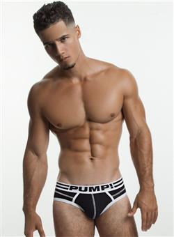 PUMP Lux Brief black white