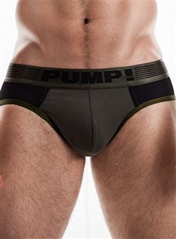 PUMP Ribbed Brief military