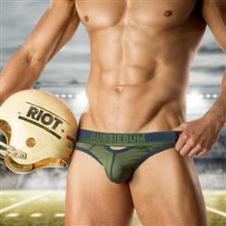 aussieBum Riot Brief army