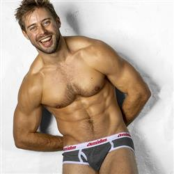 aussieBum Classic Original Brief grey marle