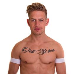 BIBO Biceps Bands white