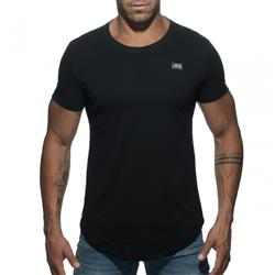 Addicted Basic U-Neck T-shirt black