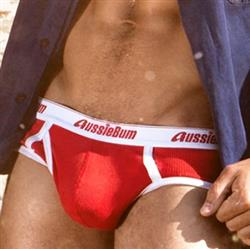 aussieBum Classic Original Brief red