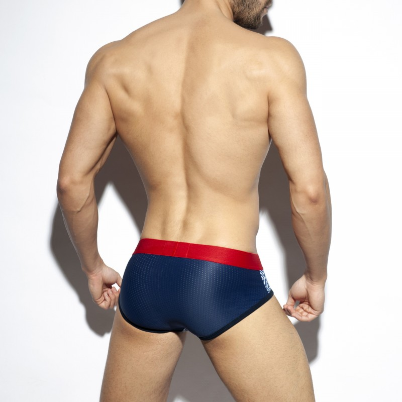 ES Collection Rhombus Red Brief