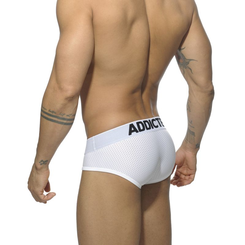Addicted 3 Pack Mesh Brief Push Up