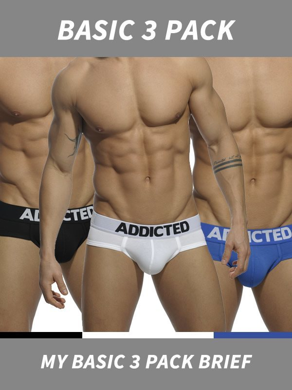 Addicted My Basic 3 Pack Brief