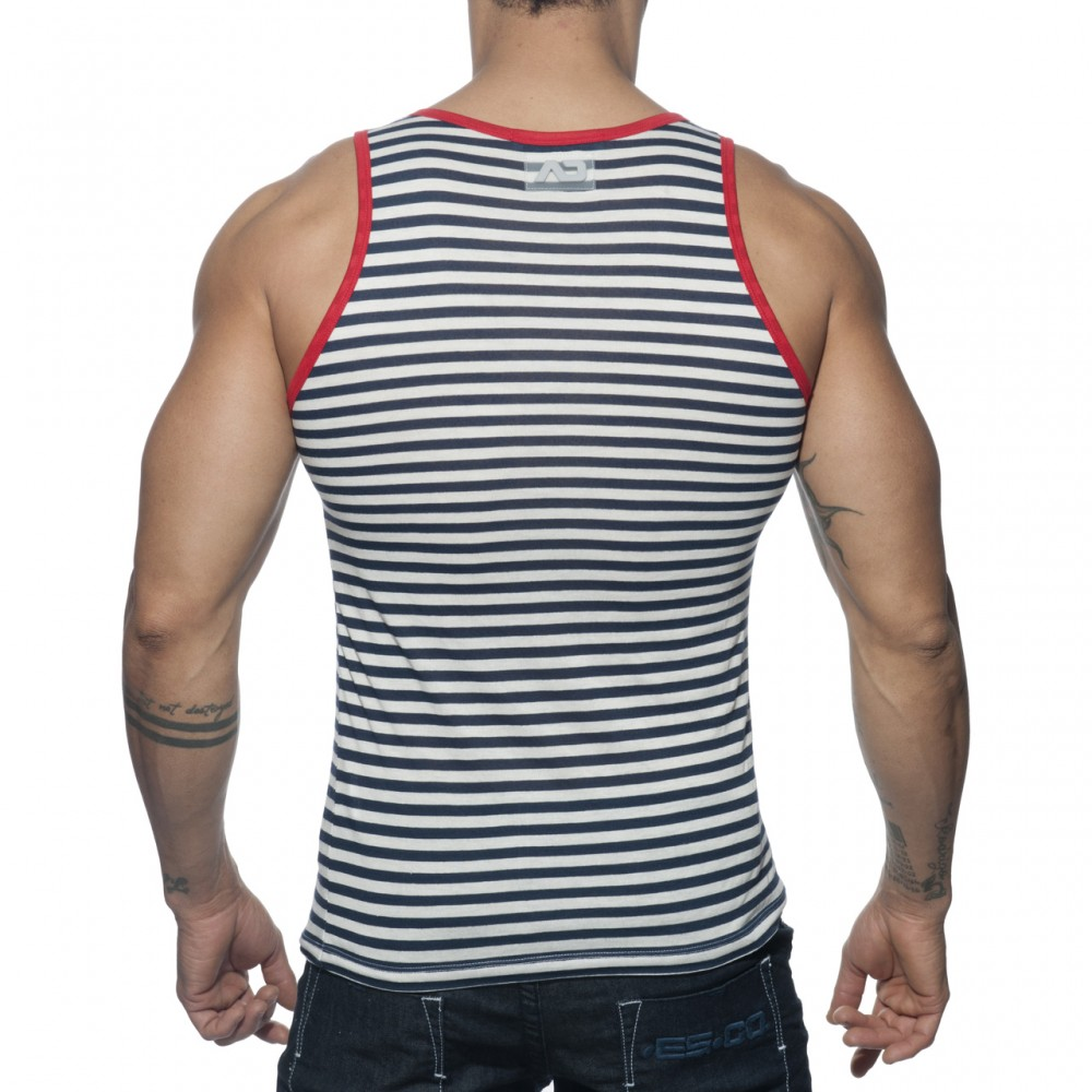 Addicted Sailor Tank Top rood