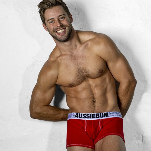aussieBum EnlargeIT Hipster red
