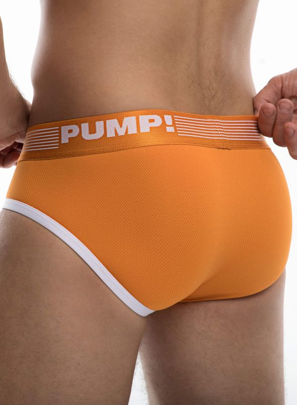 PUMP Ribbed Brief Creamsicle