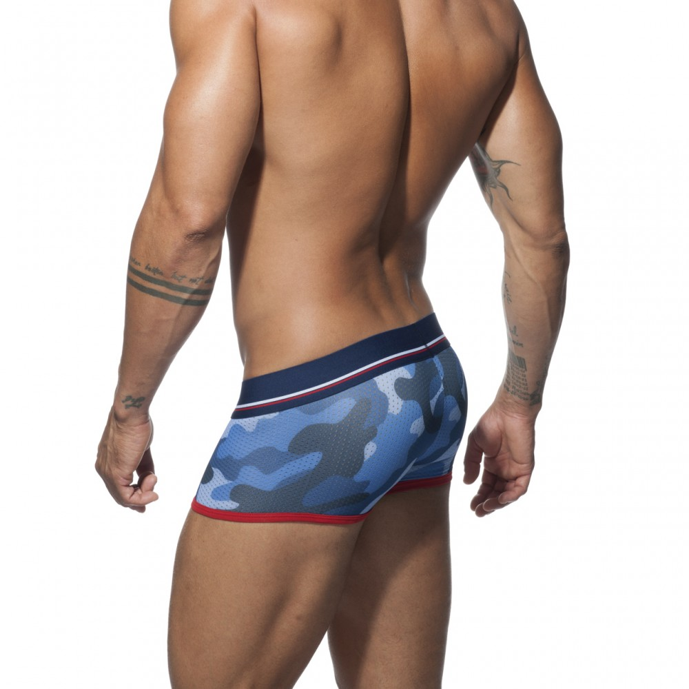 Addicted 3 Pack Camo Mesh Boxer Push Up