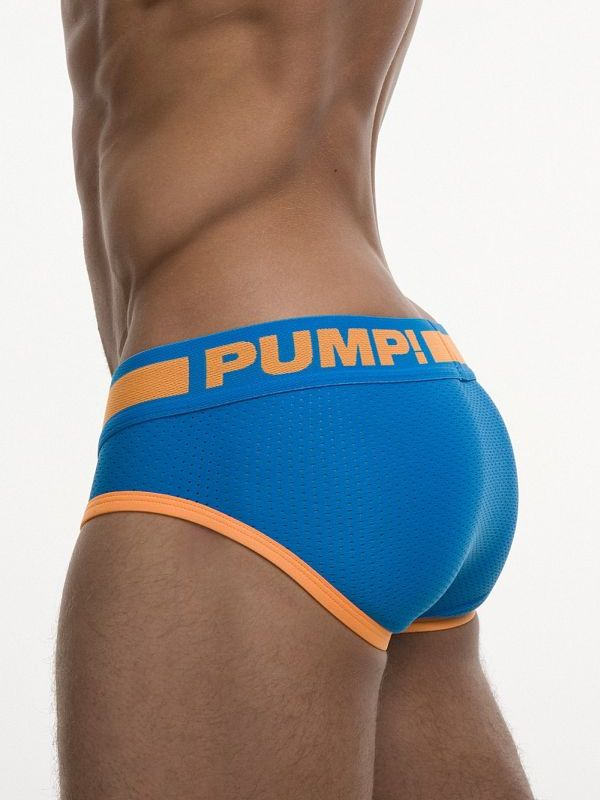PUMP Cruise Brief blue orange