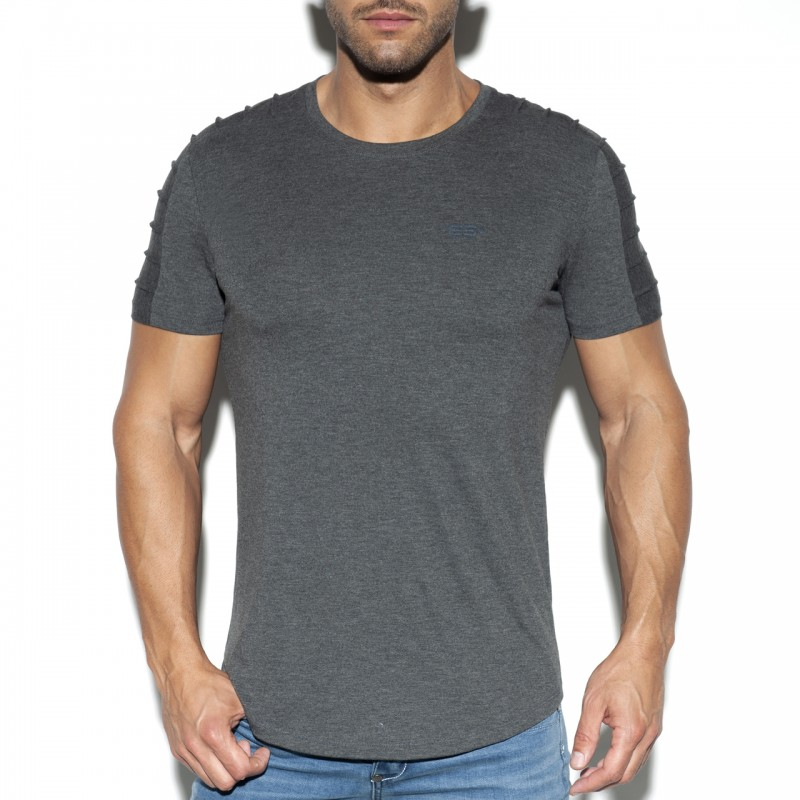 ES Basic Ranglan T-Shirt Charcoal