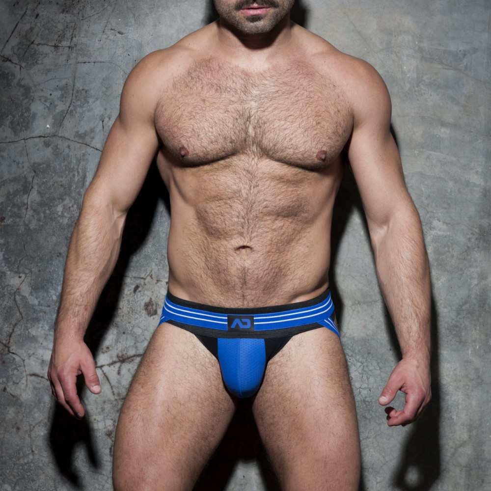 Addicted Double Stripe Jock blauw