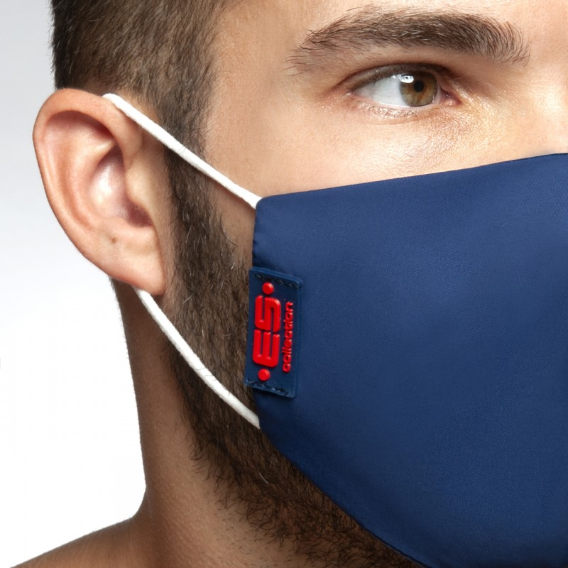 ES Flag Tape Mask navy