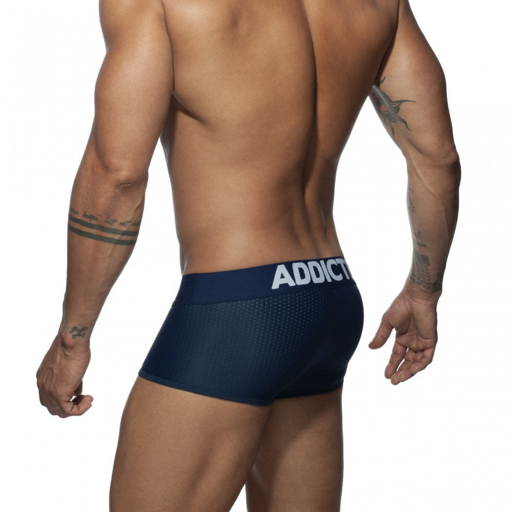 Addicted Push Up Mesh Trunk navy