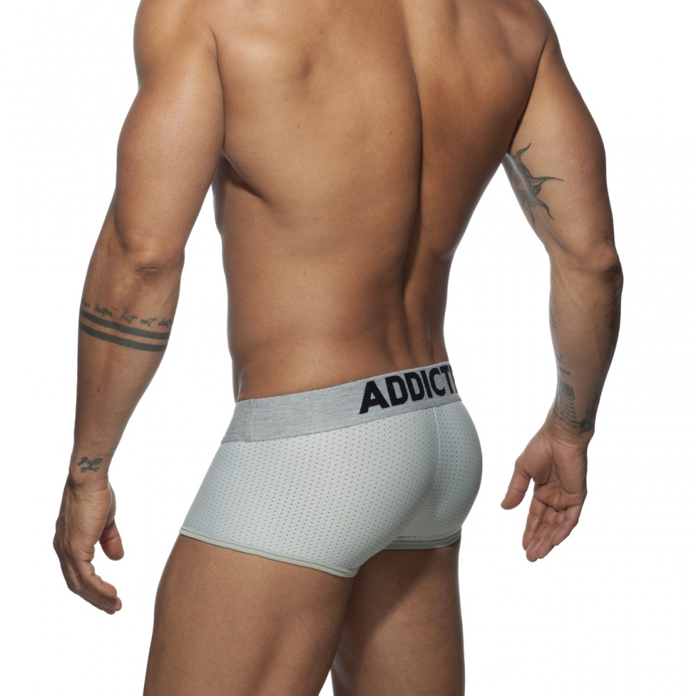Addicted Push Up Mesh Trunk silver