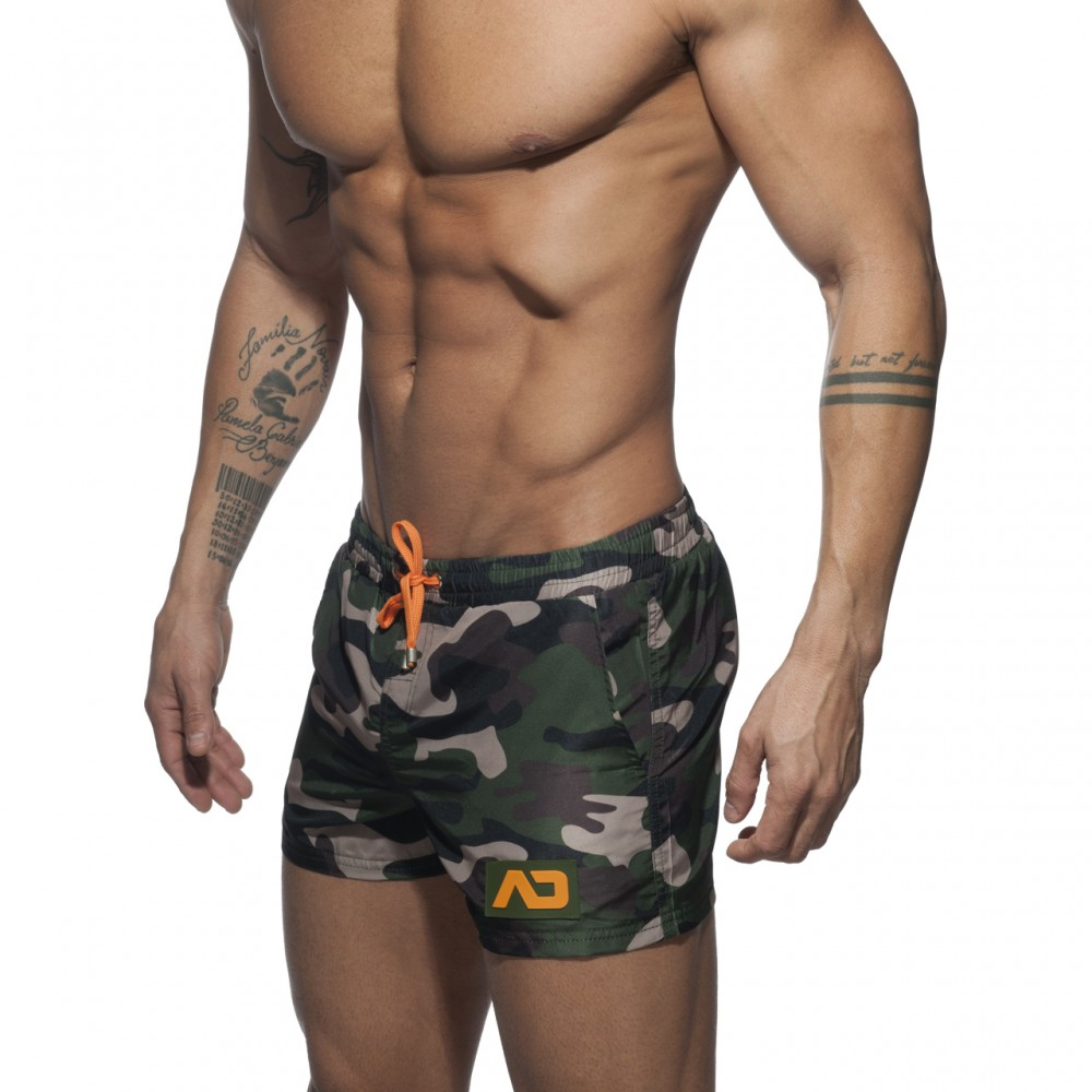 Addicted Camouflage Swimwear Short camouflage