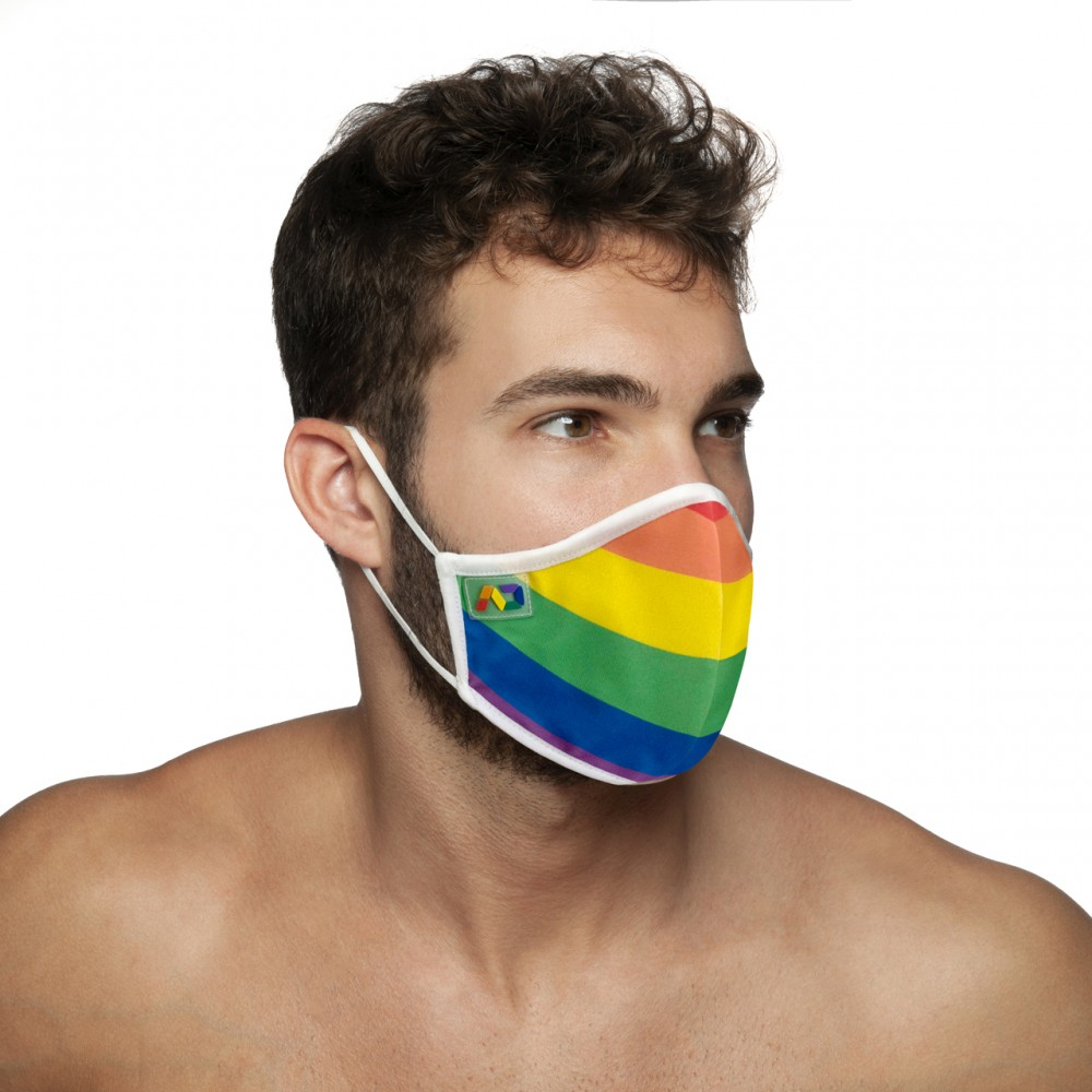 Addicted Rainbow Mask