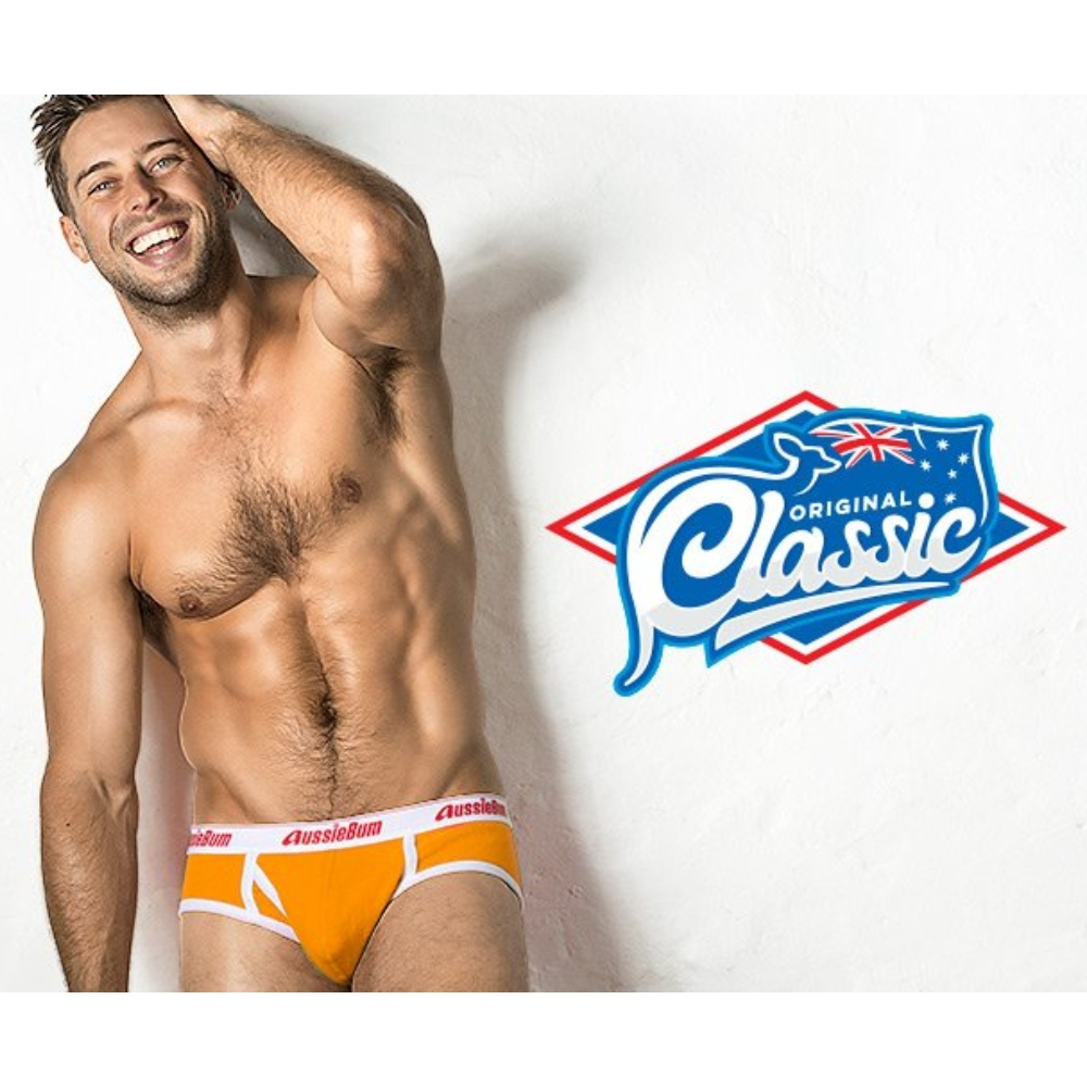 aussieBum Classic Brief Mango yellow