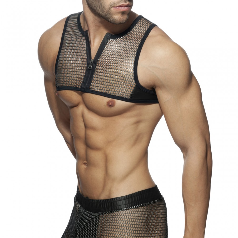 Addicted Party Zip Harness black