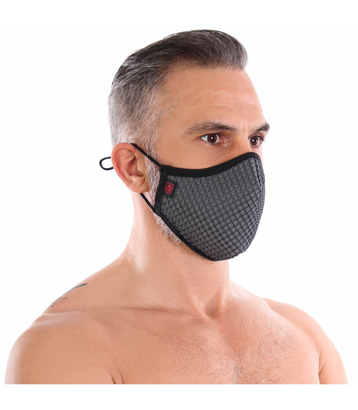 Tof Paris 3D Washable Grey Seamless Mask