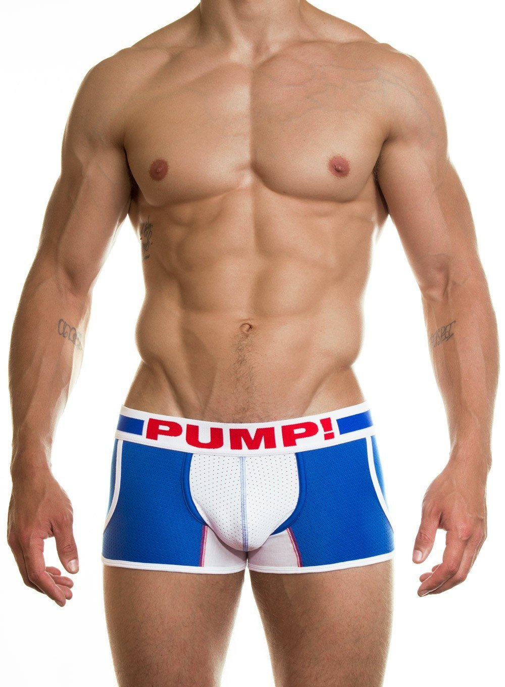 PUMP Hero Jogger blue white red