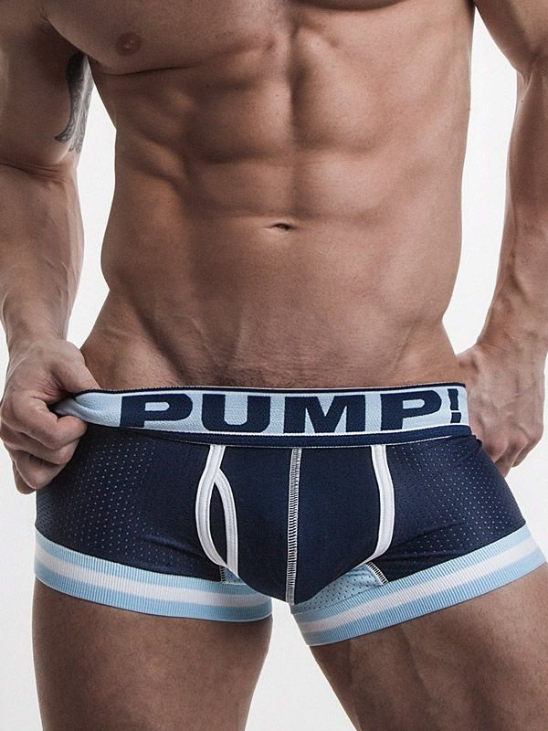 PUMP Touchdown Boxer Blue Steel navy white