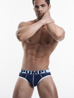 PUMP Blue Steel Brief navy blue