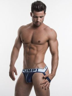 PUMP Blue Steel Jockstrap navy blue